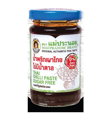 น้ำพริกเผาไทยไม่มีน้ำตาล